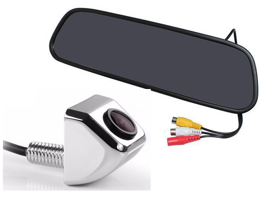 "rearview mirror with 4.3 ""TFT and rear camera"