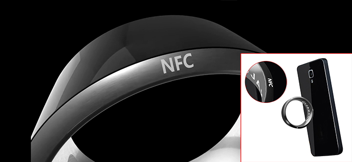 NFC module intelligent ring