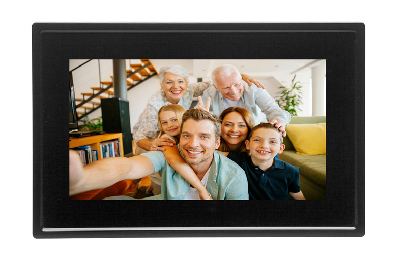 Digital Touch Photo Frame With Wifi 7 Display 8gb Memory And