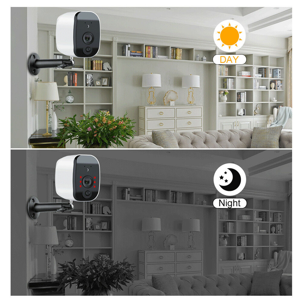 HD security camera with IR LED