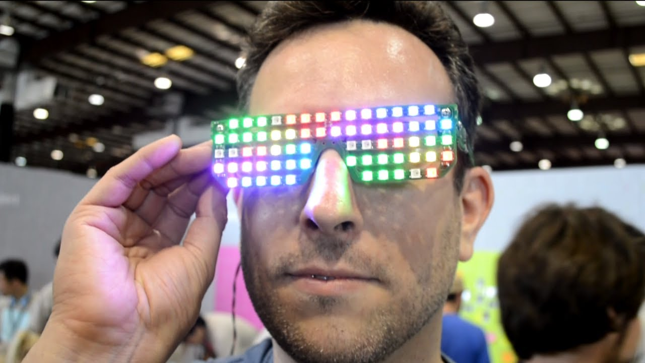 RGB LED glasses