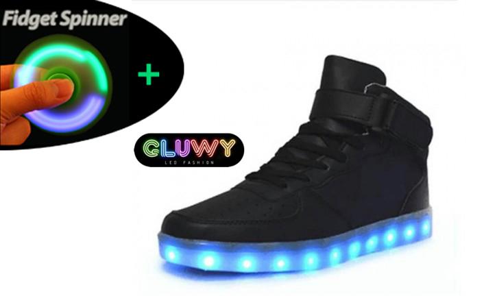 31b8285d6307 Shining shoes - Sneakers Black