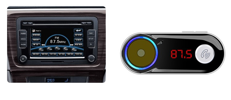 fm transmitter with usb charger