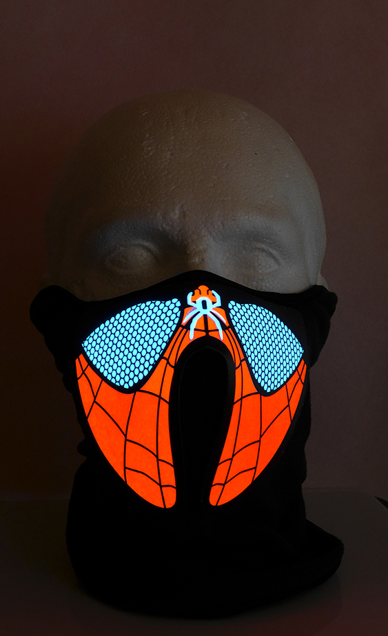 Spiderman led Mask