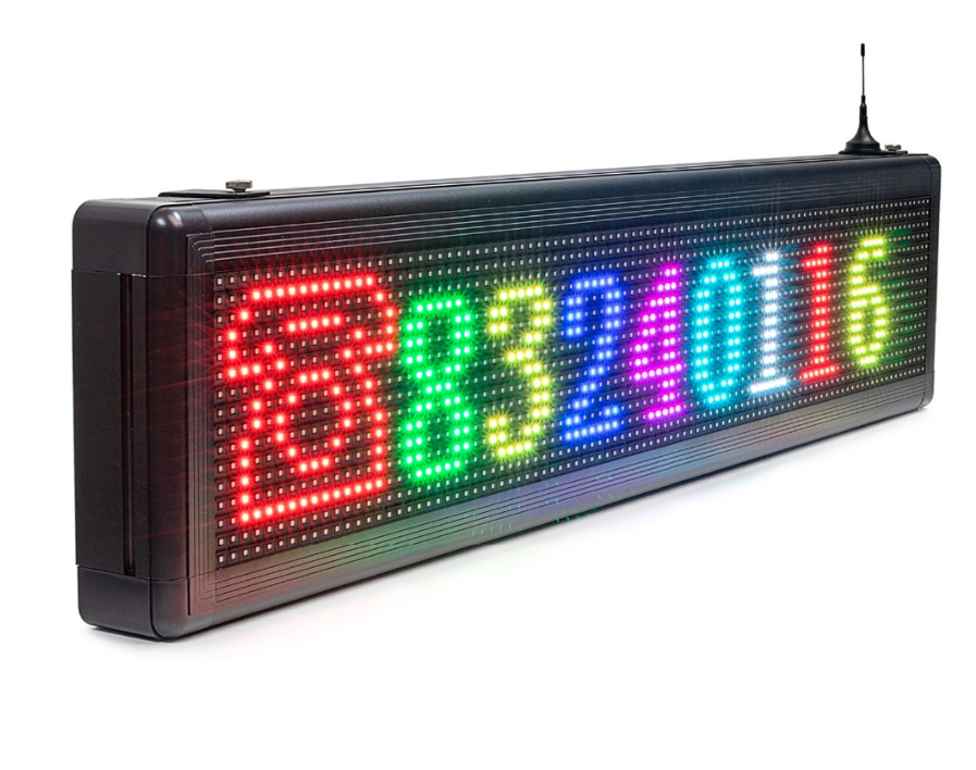 WiFi LED RGB information panel outdoor