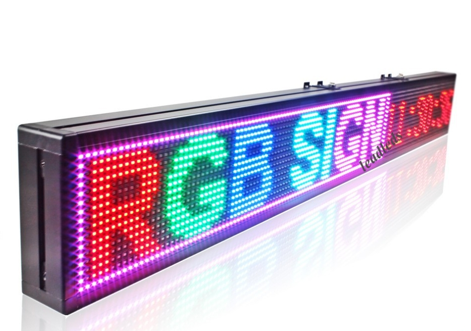 LED information panels
