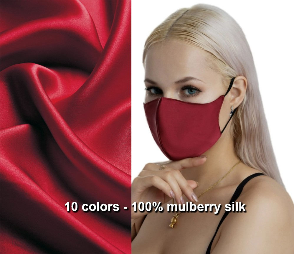 Silk mask luxury