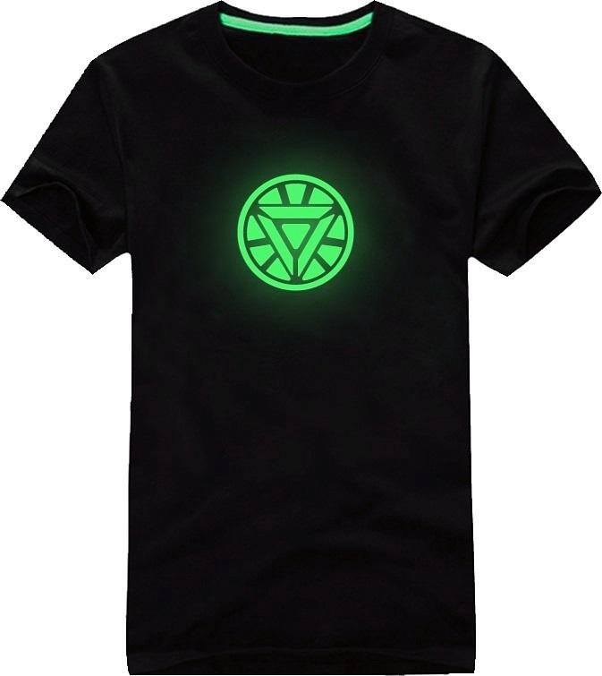 Neon T shirt Ironman