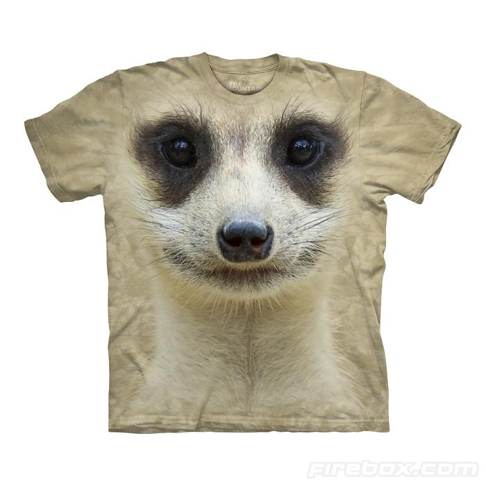 71adf9078cf Hi-tech funny Tshirts - Meerkat
