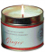 Soy wax candles tin